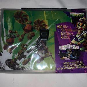 TMNT Sticker Pack Brief Case